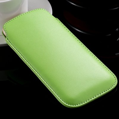 High Quality General Leather Case For Iphone 6 Plus 5 4 /For Samsu 32266775748-5-Green