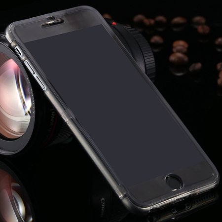 For Iphone6 5.5 Case Flexible Durable Transparent Clear Case For I 2053012130-1-Black