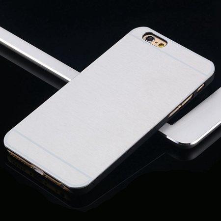 Hot Luxury Brand Brush Aluminum Metal Case For Iphon 32226437912-9-Sliver