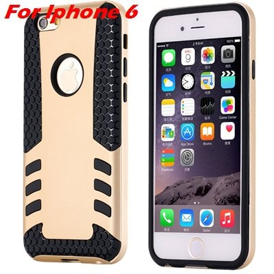 Luxury Rocket High Quality Pc+Tpu Hybrid Hard Case For Iphone 6 Pl 32255559642-5-Gold  For I6