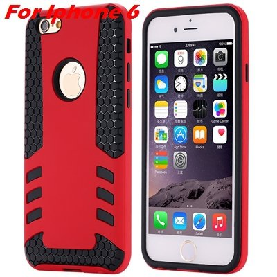 Luxury Rocket High Quality Pc+Tpu Hybrid Hard Case For Iphone 6 Pl 32255559642-6-Red For I6