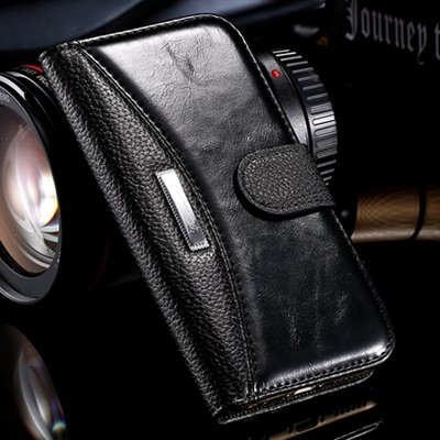 Hot Classic Business Style High Quality Pu Leather Case For Iphone 32254791794-1-Black