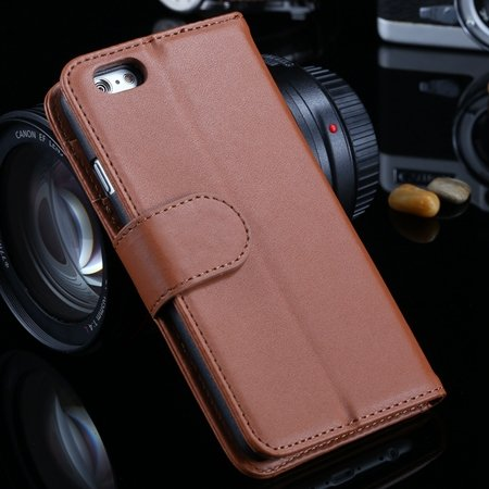 For Iphone 6 Plus Wallet Case Luxury Flip Pu Leather Case For Ipho 2055768856-8-Brown