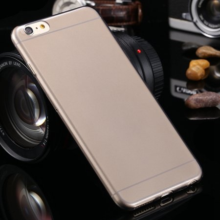 2015 Retro Cute 0.3Mm Transparent Clear Soft Tpu Cas 2026650089-1-Black For I6 Plus