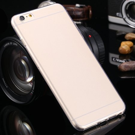 2015 Retro Cute 0.3Mm Transparent Clear Soft Tpu Cas 2026650089-5-Clear For I6 Plus