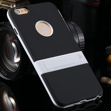 For Iphone 6 5.5 Stand Case Unique Cool Fexibile Soft Tpu Case For 2046620110-1-Black