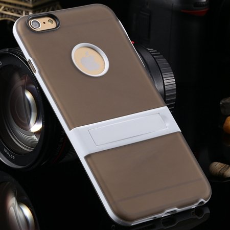 For Iphone 6 5.5 Stand Case Unique Cool Fexibile Soft Tpu Case For 2046620110-2-Gray