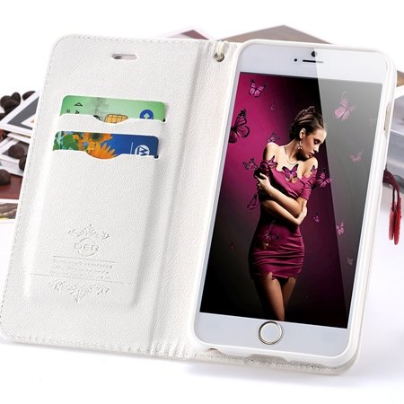 Hot Special For Girls Lovely Cherry Phone Cases For Iphone 6 Plus  2055000379-1-White
