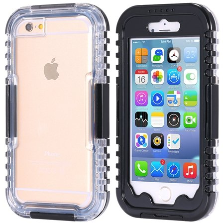 For Iphone 6 5.5Inch Soft Case Retro Anti-Water Sport Waterproof C 32277576039-1-Black