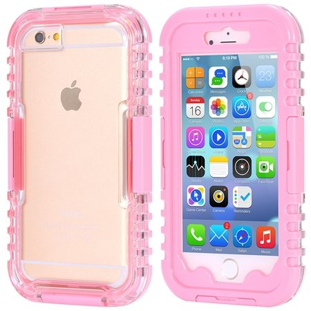 For Iphone 6 5.5Inch Soft Case Retro Anti-Water Sport Waterproof C 32277576039-3-Pink