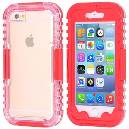 For Iphone 6 5.5Inch Soft Case Retro Anti-Water Sport Waterproof C 32277576039-4-Red