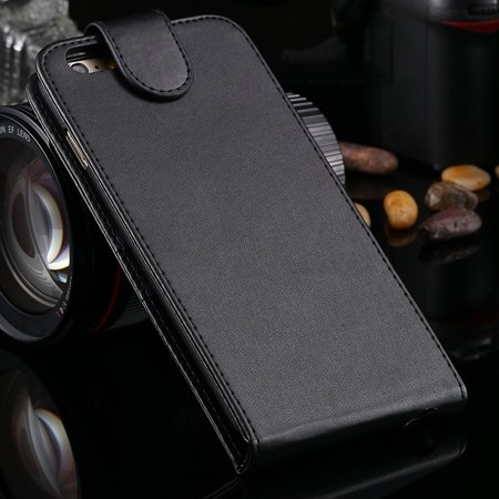 New Arrival Retro Pink Pu Leather Vertical Flip Case For Iphone 6  2027538805-1-Black