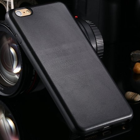 New Arrival Retro Luxury Pu Leather Case For Iphone 6 Plus Soft Tp 2046771251-1-Black