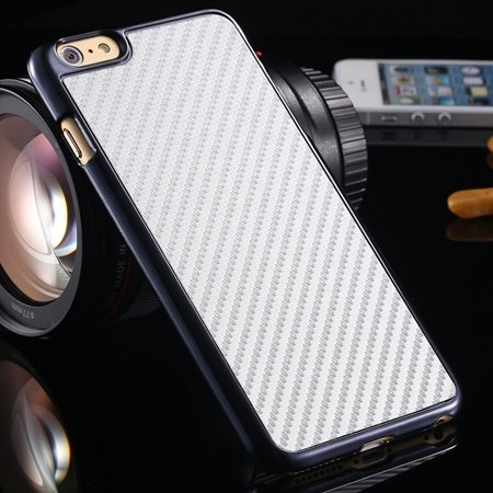 Brown Retro Ultra Thin Carbon Fiber Case For Iphone 6 Plus 5.5Inch 32222206032-2-White