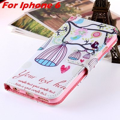 For Iphone 6 Leather Case Premium Wallet Stand Flip Card Slot Pu L 32255156267-4-For Iphone 6