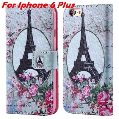 For Iphone 6 Leather Case Premium Wallet Stand Flip Card Slot Pu L 32255156267-7-For Iphone 6 Plus