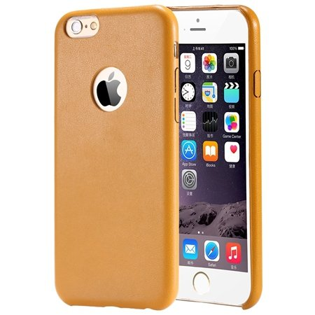 Gold Luxury Back Pu Leather Case For Iphone 6 Plus 5.5Inch Cell Ph 32271193158-2-Yellow