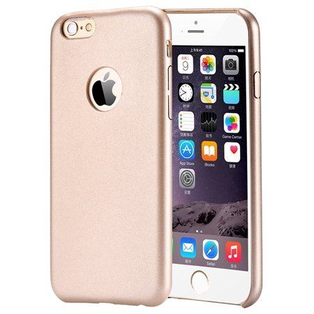 Gold Luxury Back Pu Leather Case For Iphone 6 Plus 5.5Inch Cell Ph 32271193158-7-Gold