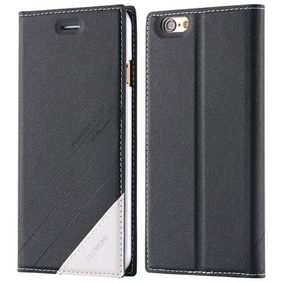 2015 New Luxury Retro Magnetic Full Flip Pu Leather Case For Iphon 32271867092-1-Black