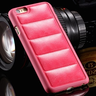 Vintage Luxury Soft Sofa Leather Case For Iphone 6 Plus 5.5Inch Le 32258451526-5-Hot Pink