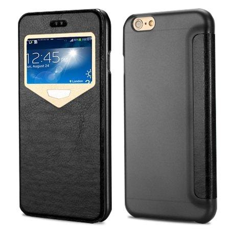 "2015 New Luxury Vinatge Pu Leather Case For Iphone 6 Plus 5.5"""" Win 32270584493-1-Black"