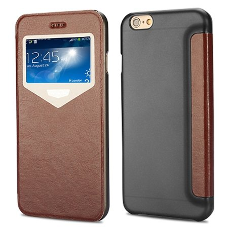 """2015 New Luxury Vinatge Pu Leather Case For Iphone 6 Plus 5.5"""""""" Win 32270584493-3-Brown"""