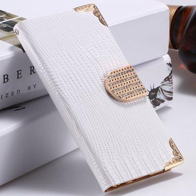 Big Promotion Women Girl'S Bling Luxury Shiny Diamond Leather Case 32266656935-2-White