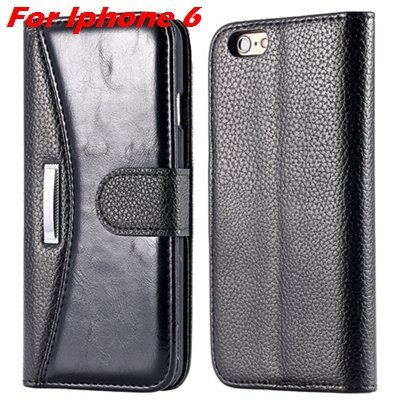 Retro Classic Business Style Pu Leather Case For Iphone 6 Plus Mob 32254553998-1-Black For Iphone 6