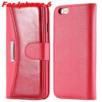 Retro Classic Business Style Pu Leather Case For Iphone 6 Plus Mob 32254553998-3-Red For Iphone 6