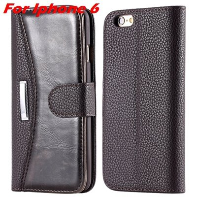 Retro Classic Business Style Pu Leather Case For Iphone 6 Plus Mob 32254553998-4-Brown For Iphone 6