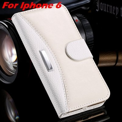 Retro Classic Business Style Pu Leather Case For Iphone 6 Plus Mob 32254553998-6-White For  I6 Plus