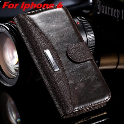 Retro Classic Business Style Pu Leather Case For Iphone 6 Plus Mob 32254553998-8-Brown For  I6 Plus