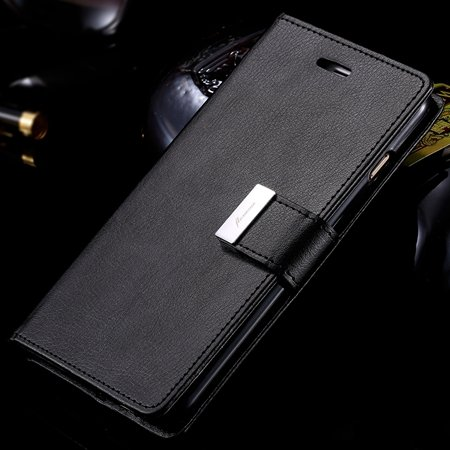 For Iphone 6 Plus Leather Case Luxury Men Women Flip Pu Leather Ca 32278142450-1-Black