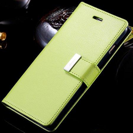 For Iphone 6 Plus Leather Case Luxury Men Women Flip Pu Leather Ca 32278142450-3-Green