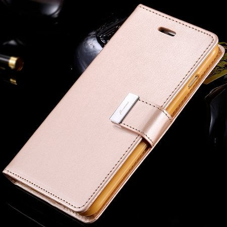 For Iphone 6 Plus Leather Case Luxury Men Women Flip Pu Leather Ca 32278142450-6-Gold