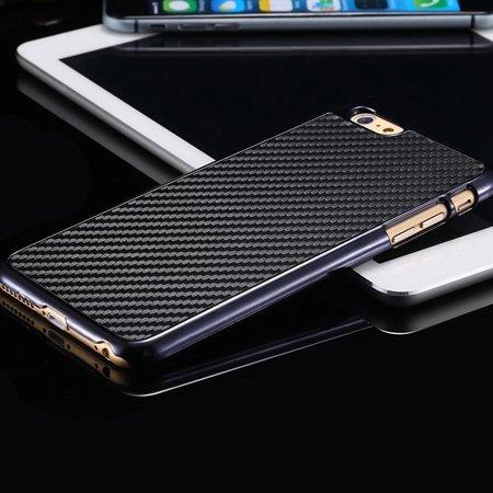 New Arrival Vintage Slim Carbon Fiber Pc Plating Case For Iphone 6 32225519016-1-Black