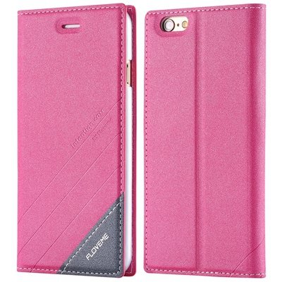 For Iphone 6 Plus Case Luxury Cool Pu Leather Case For Iphone 6 Pl 32269729965-5-Hot Pink