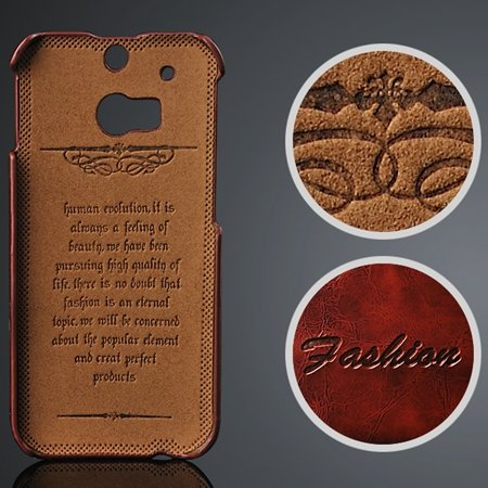 M8 Case Soft Wax Pu Leather Case For Htc One M8 Cell Phone Cases P 2047297653-1-Brown