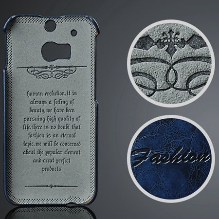 M8 Case Soft Wax Pu Leather Case For Htc One M8 Cell Phone Cases P 2047297653-4-Blue