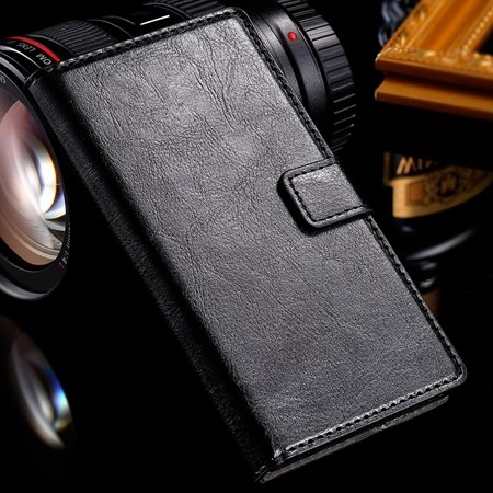 New Year Retro Pu Luxury Leather Case For Sony Lt36H C6603 Leather 1526973601-1-Black