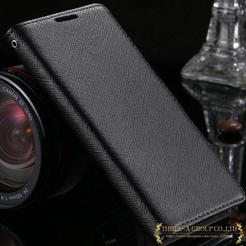 New Luxury Genuine Leather Case For Sony Xperia Z2 L50W Flip Walle 2008132819-1-black