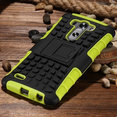 G3 High Quality Pc Hard Back Case For Lg G3 D830 D850 Stand Armor  32271031434-7-Green
