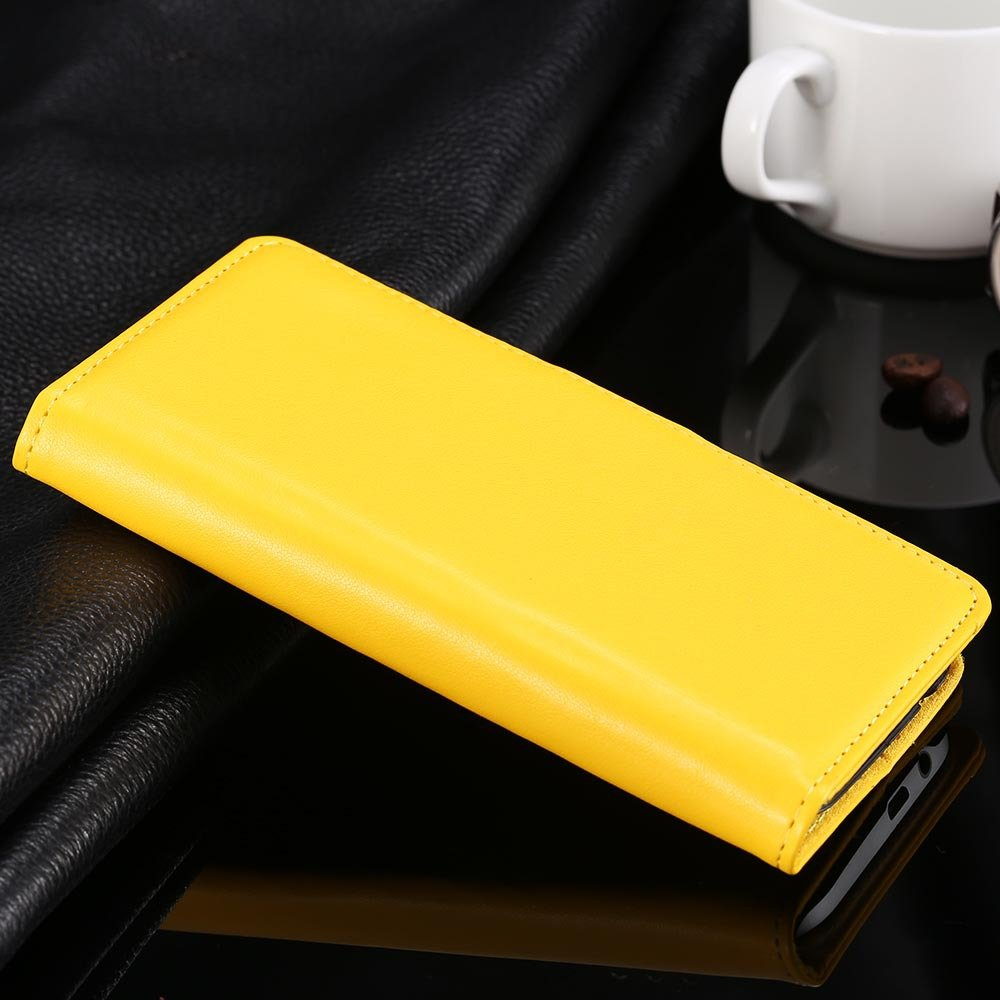 For M8 Flip Case Luxury Top Quality Pu Leather Case For Htc One M8 1838750180-5-yellow