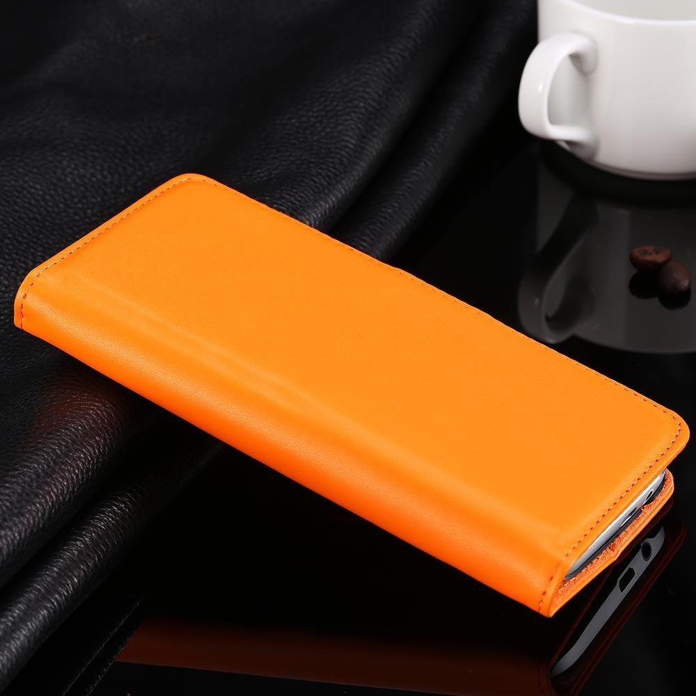 For M8 Flip Case Luxury Top Quality Pu Leather Case For Htc One M8 1838750180-9-orange