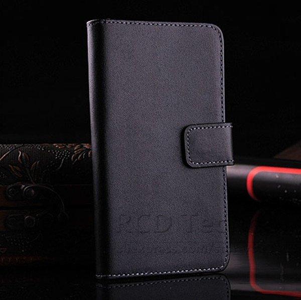 M7 Luxury Genuine Leather Case For Htc One M7 801E Flip Wallet Cas 1527023520-1-black