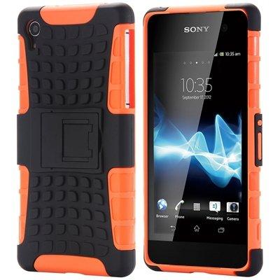 Z2 Unique Vintage Slip-Proof Pc Hard Back Case For Sony Xperia Z2  32270863006-5-Orange