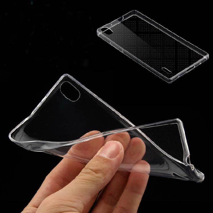 For Huawei P7 Case Ultra Thin 0.3Mm High Clear Transparent Case Fo 32276839336-1-Clear