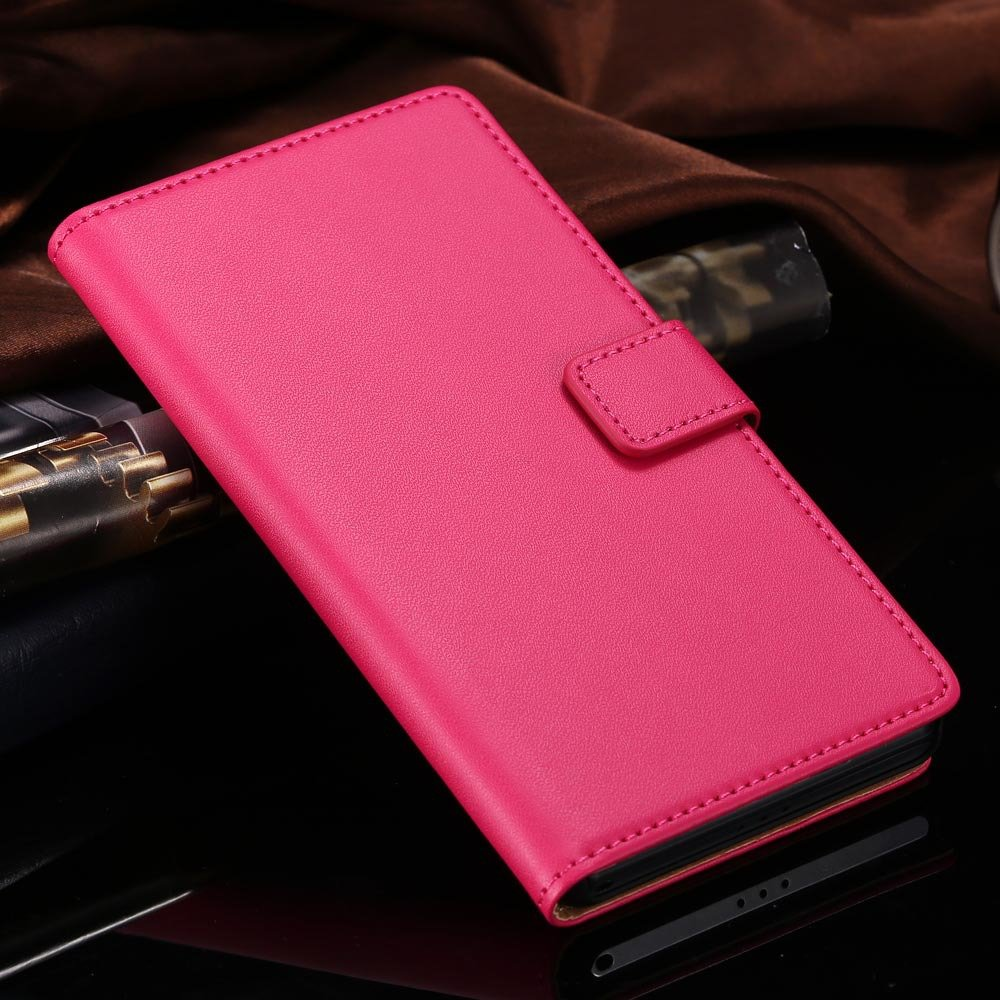 For Xperia Z2 Case Luxury Top Quality Genuine Leather Case For Son 1815119136-3-red