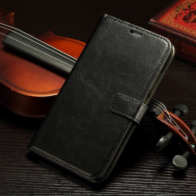 Retro Luxury Flip Pu Leather Case For Huawei Ascend Mate 7 Book St 32295540208-1-Black