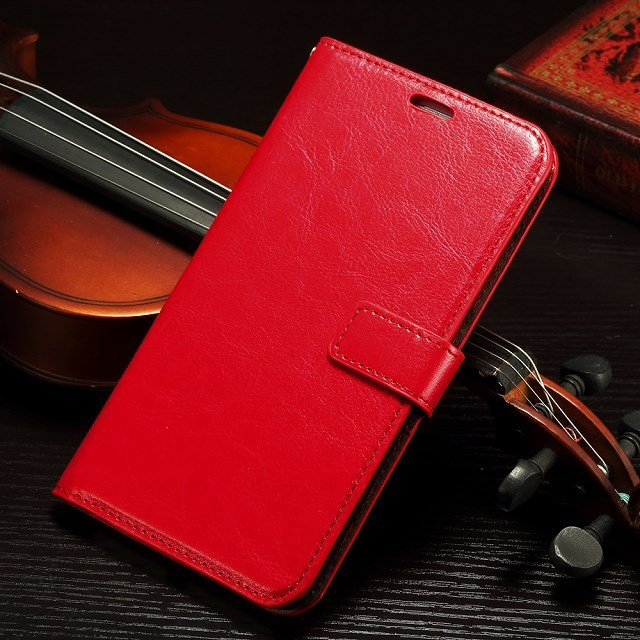 Retro Luxury Flip Pu Leather Case For Huawei Ascend Mate 7 Book St 32295540208-3-Red